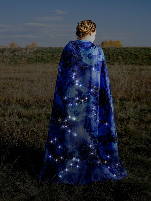 Night Sky Cape