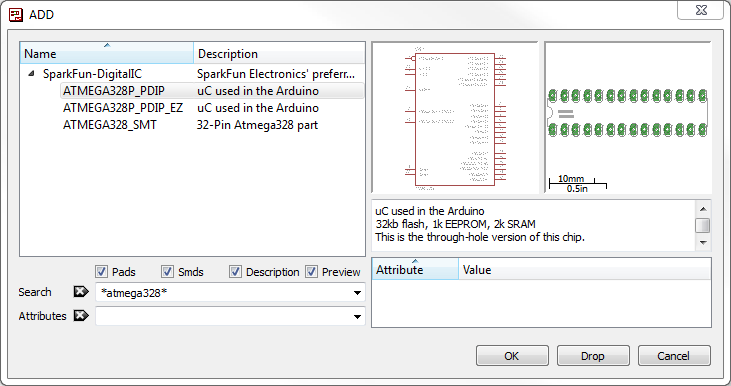 using eagle schematic learn sparkfun com rh learn sparkfun com