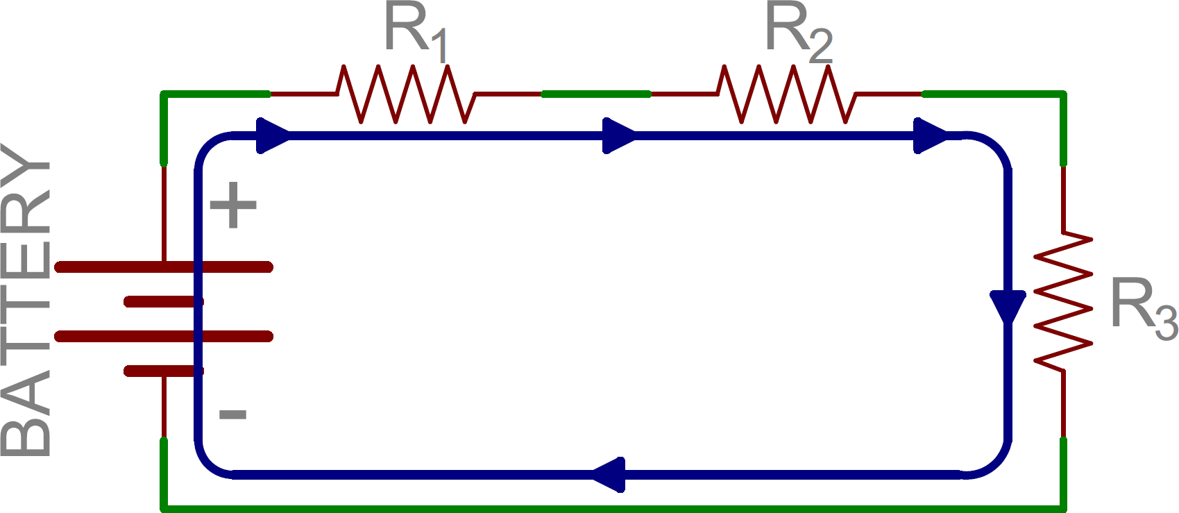 Series And Parallel Circuits Capacitor Circuit Simplification Schematic Three Resistors In
