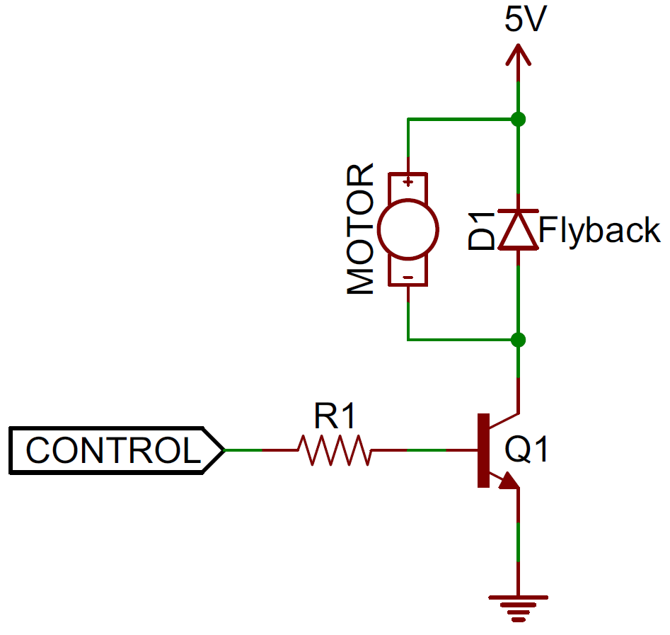 Voltage Across The Individual Components Is Equal To That At Power Diodes Flyback Diode Circuit