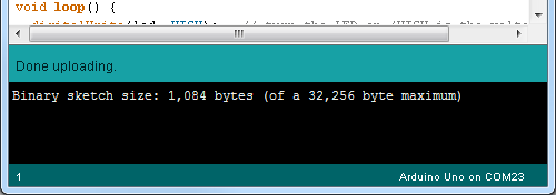 Uploading Code