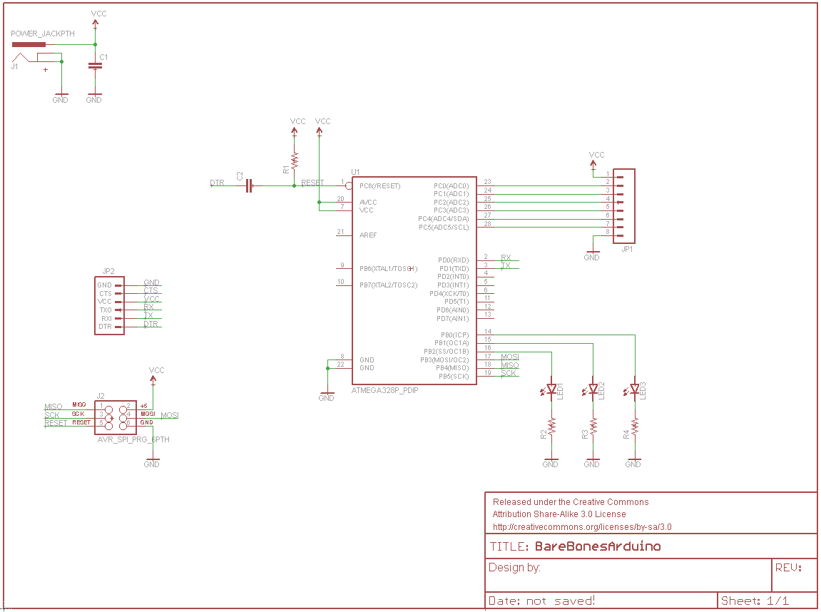 Using Eagle Schematic Led Voltmeter Final