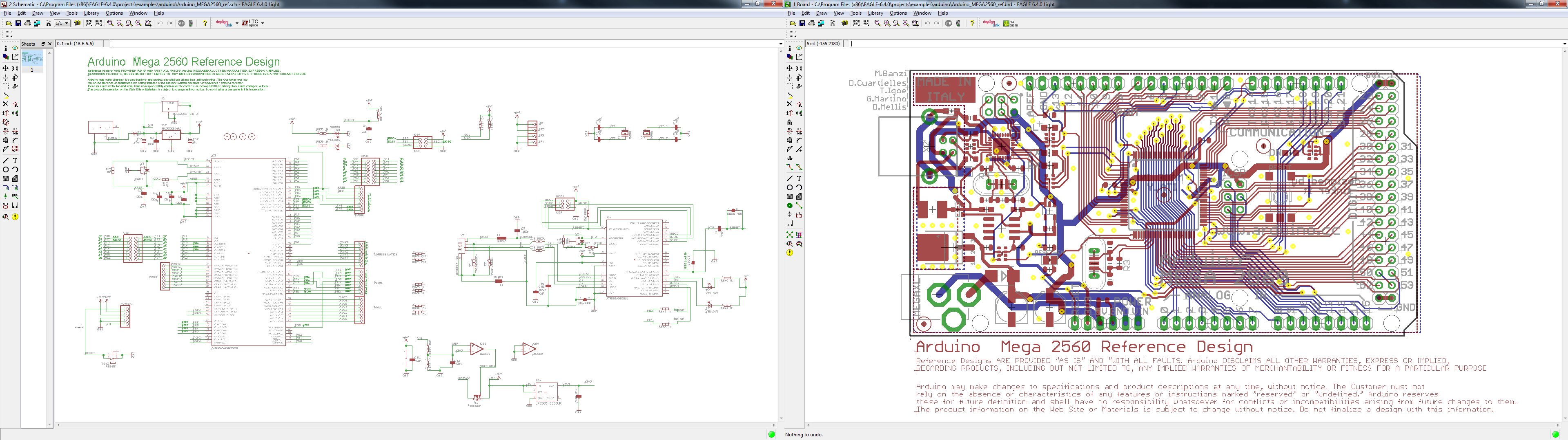 Electronic Circuit With Pcb Layout Making Pcbs In Eagle Board And Schematic View Both Open