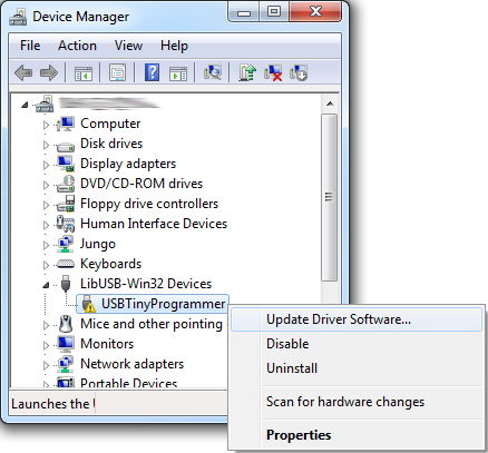 The device manager
