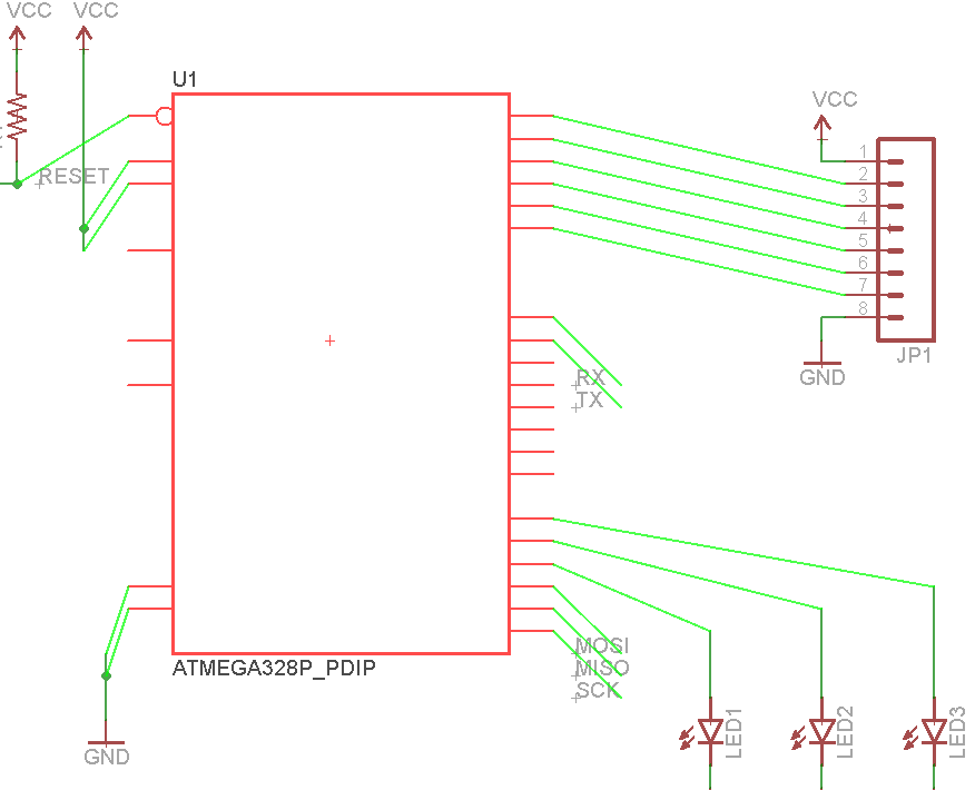 moving a part to verify a connection
