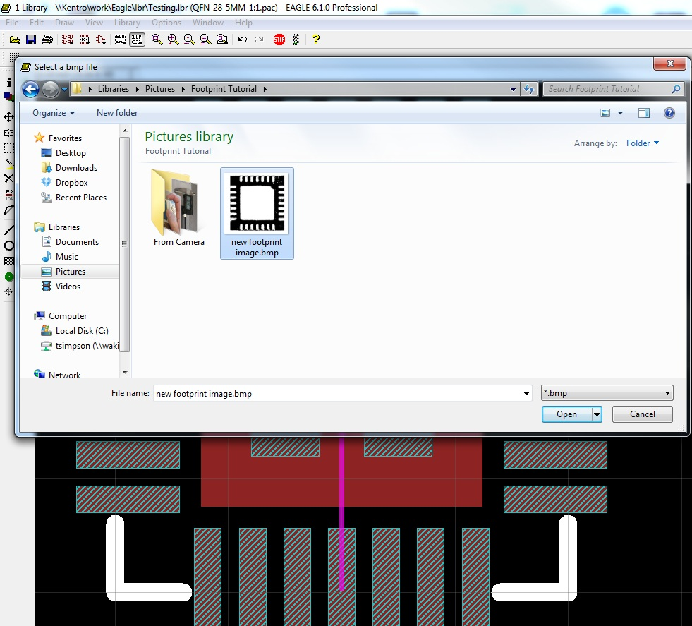 Making Custom Footprints In Eagle Figure 2 Schematic View Pcb Software Alt Text