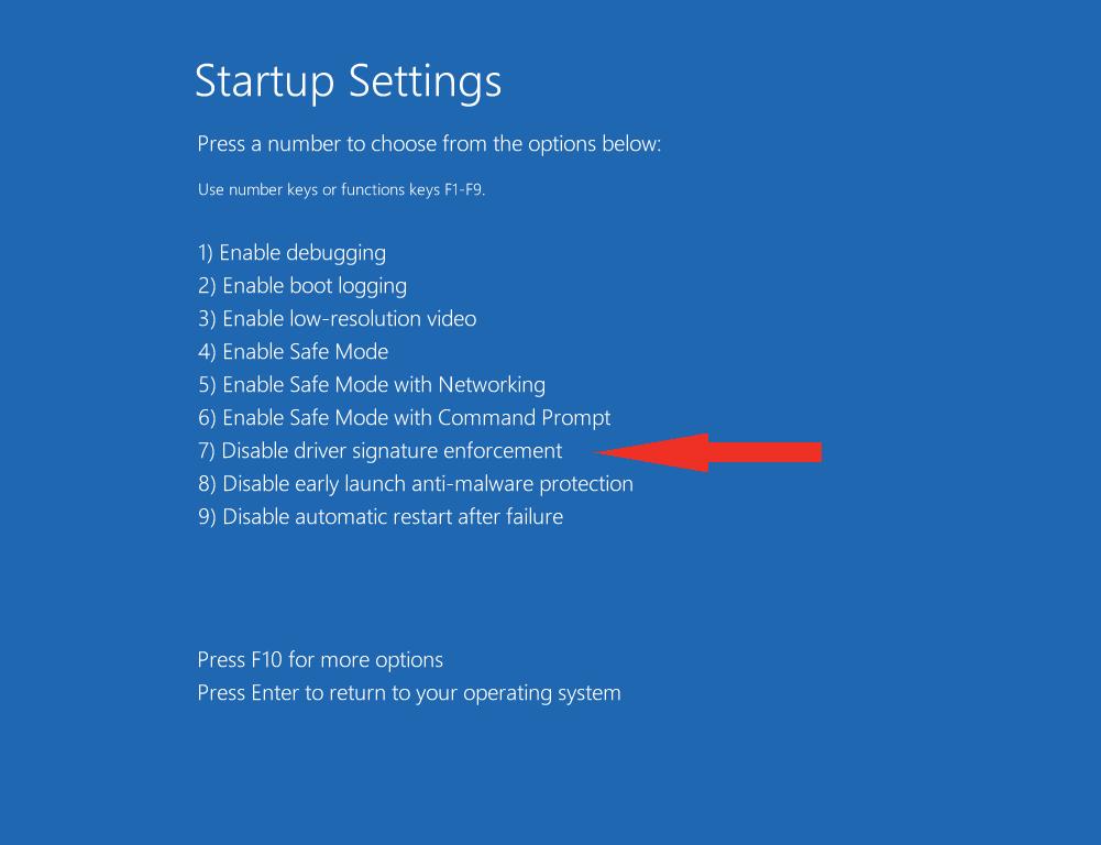 Disabling Driver Signature on Windows 8 - learn sparkfun com