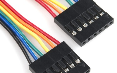 Crimp connected header cable