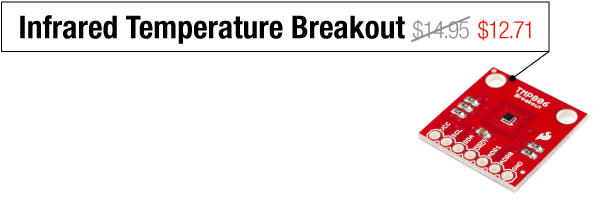 Infrared Temperature Breakout - Was $14.95, now $12.71
