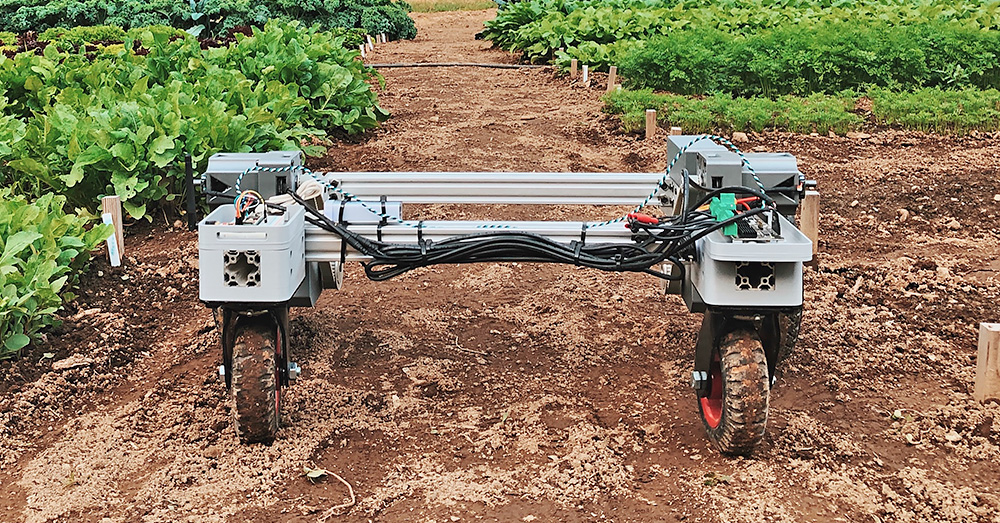 FarmHand robot at work