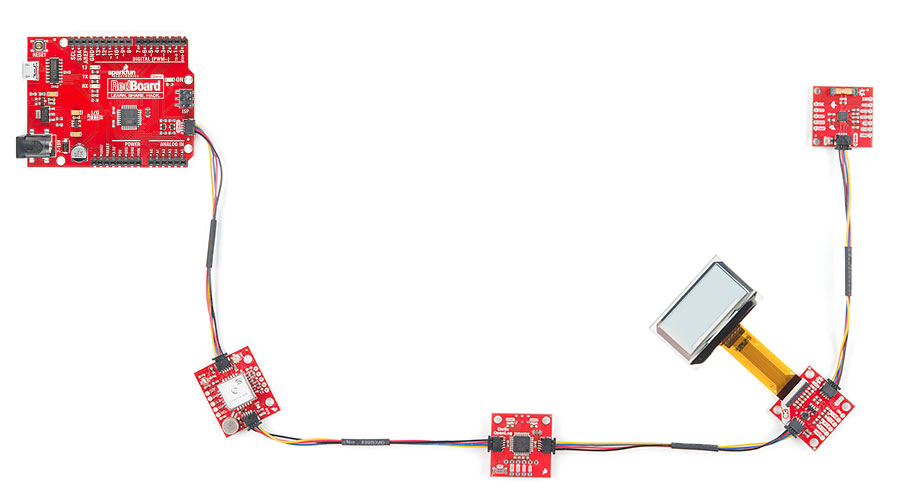 Qwiic Connect System - SparkFun Electronics