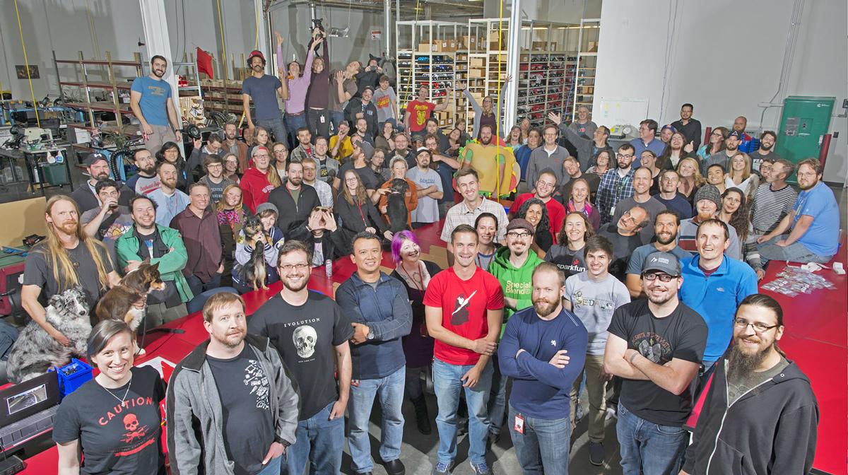 SparkFun Employees