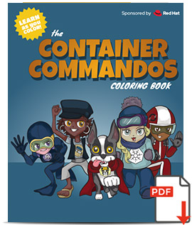 Container Commandoes Coloring Book