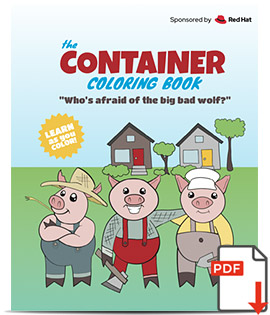 Containers Coloring Book