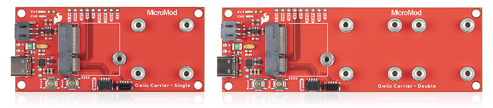 MicroMod Qwiic Carrier Boards