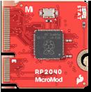 RP2040 processor board