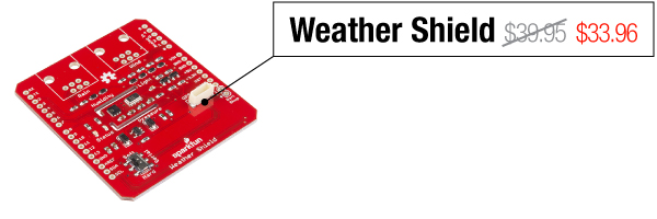 Weather Shield - Was $39.95, now $33.96