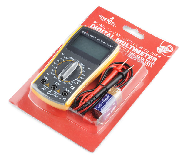 SparkFun Digital Multimeter