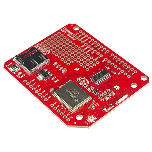 SparkFun WiFi Shield - CC3000 - DEV-12071 - SparkFun Electronics