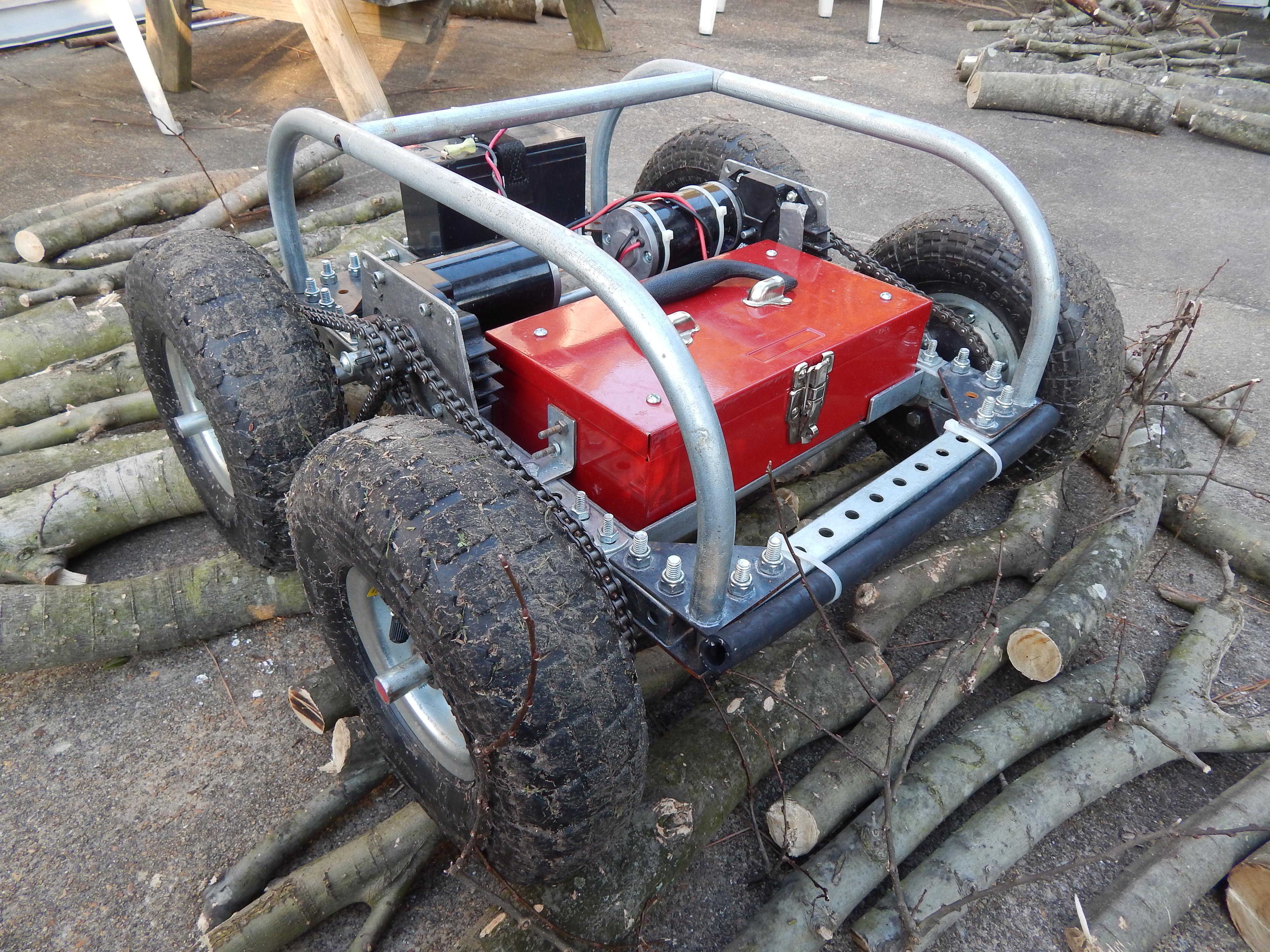 Enginursday The Hormes Robot Platform News Sparkfun Electronics Project How To Make A Remote Control Car