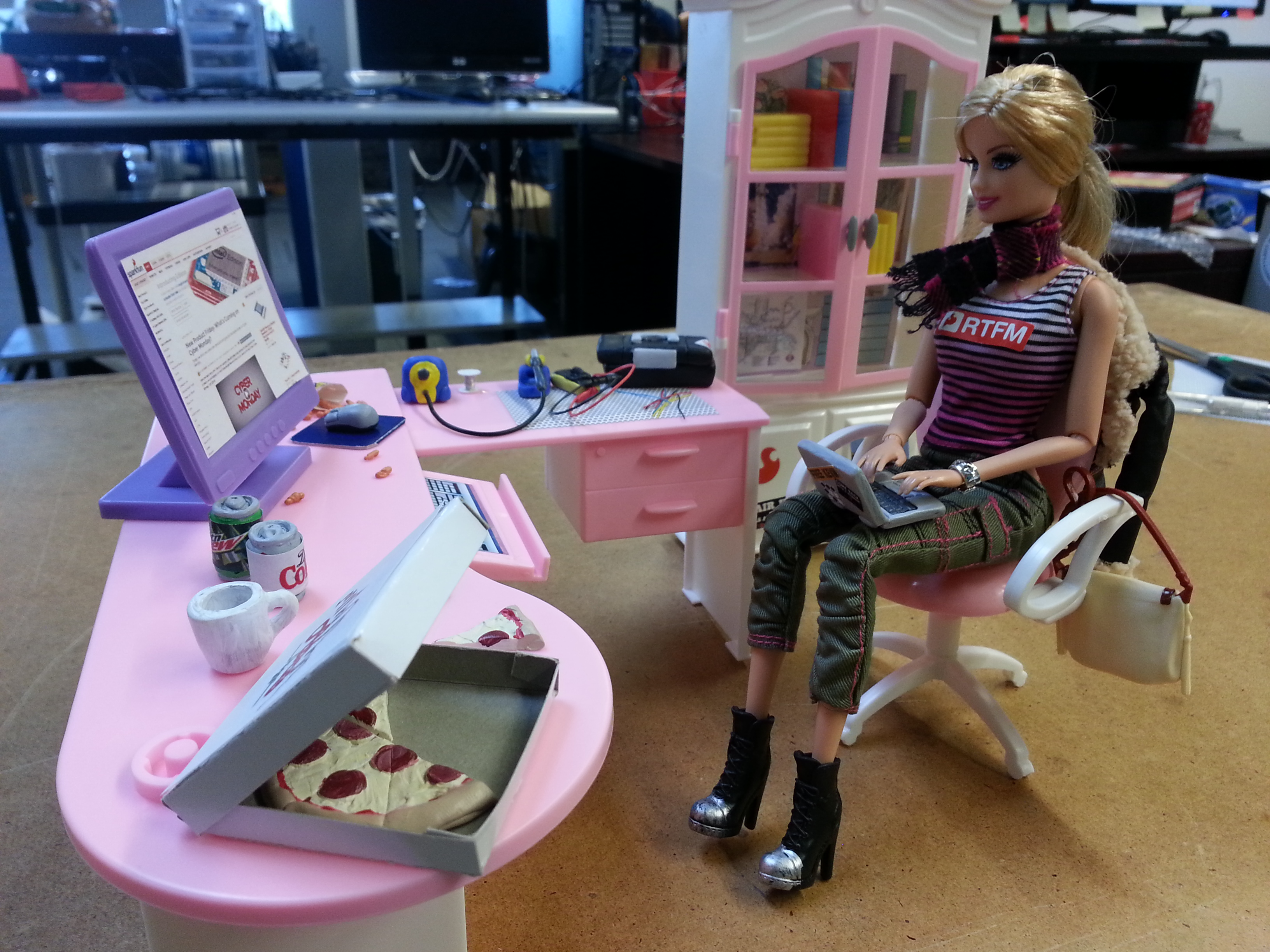 Open source Barbie