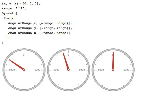 Wolfram Language gauges