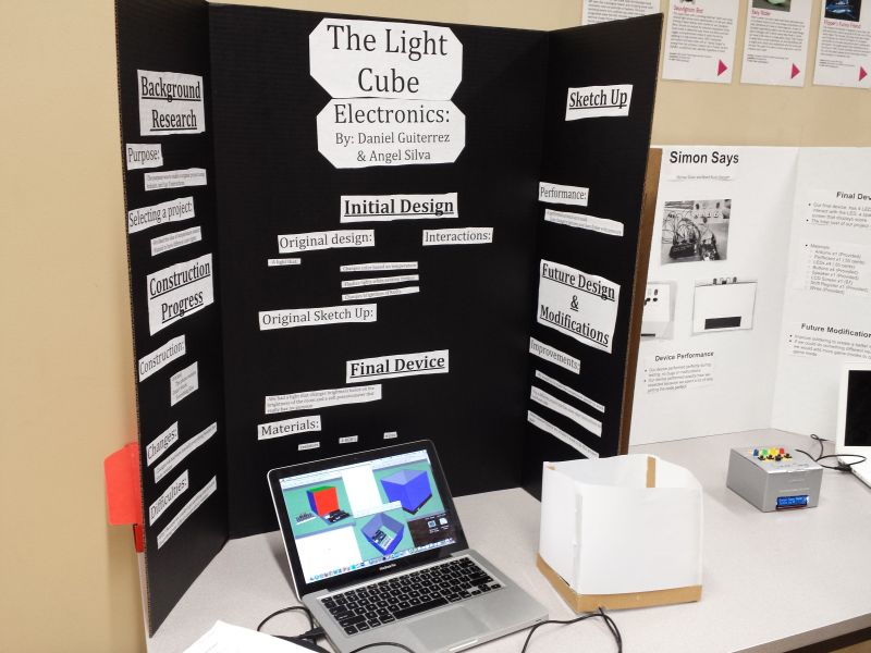 Skyline high school s electronics class poster day learn