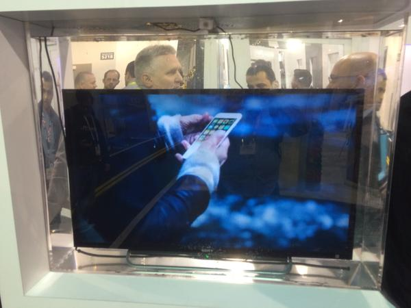 underwater TV at CES