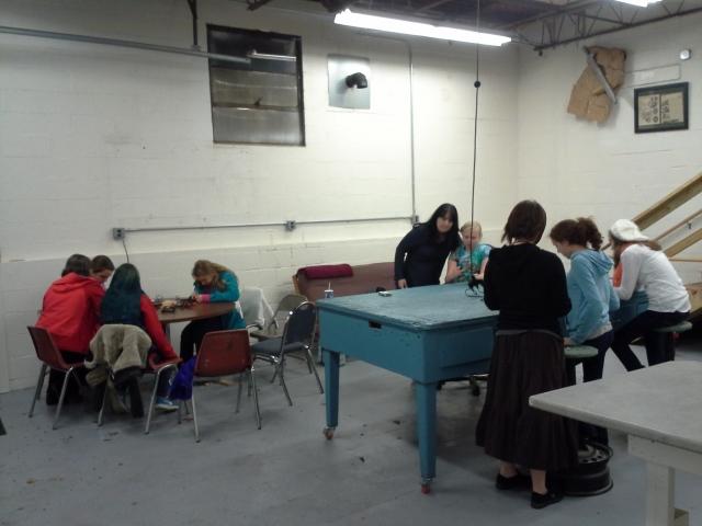 Girl Scout workshop