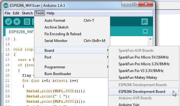 Custom boards in Arduino boards menu