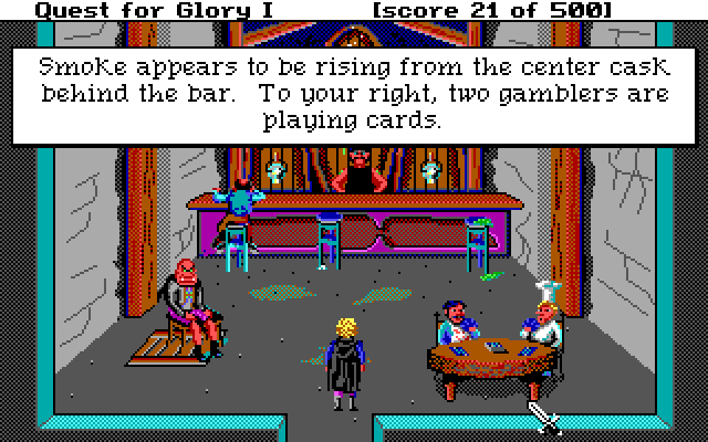 Hero's Quest the Sierra Game