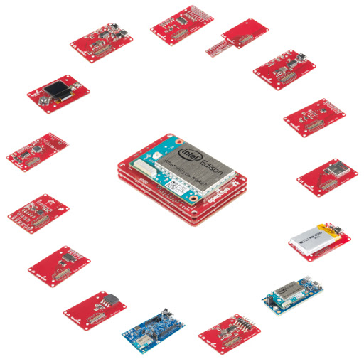 SparkFun Blocks for Intel Edison
