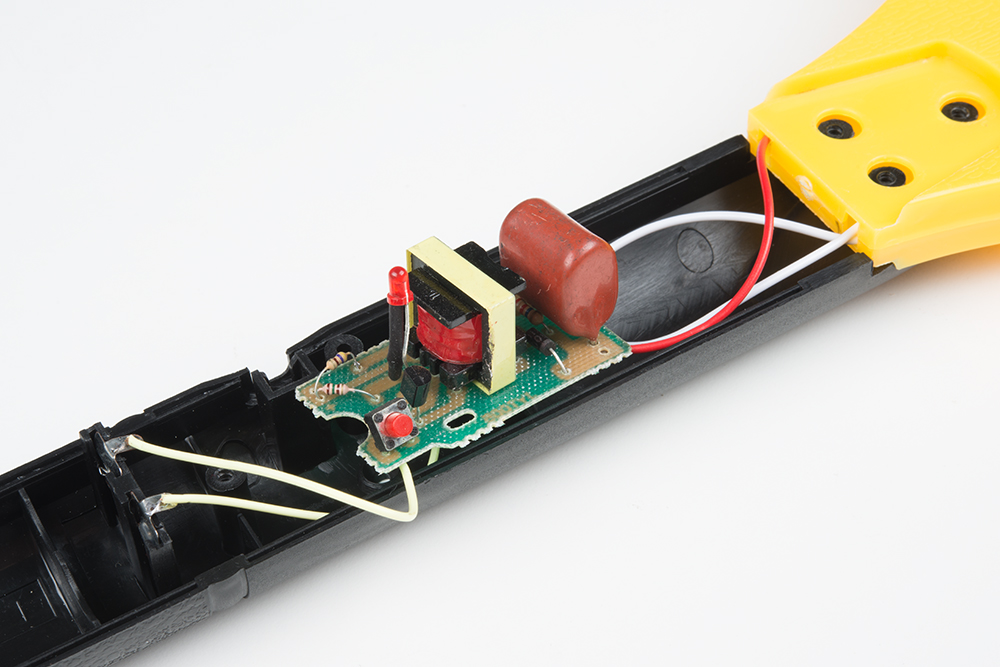 electronic fly swatter circuit diagram