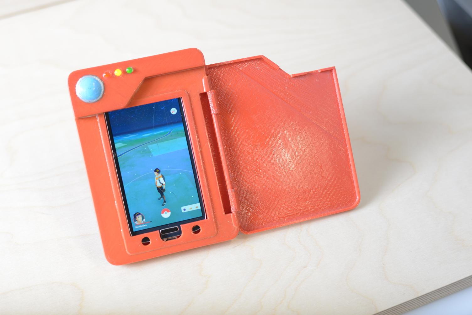 more photos 841fb a6619 T³: Building a battery backup Pokédex for Pokémon Go! - News ...