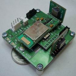 A very old sensor board from SparkFun