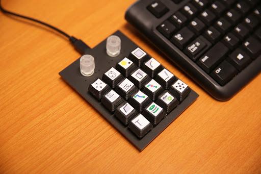 GitHub - awende/Cherry_MX_Keyboard: A custom 4x4 keyboard plus two