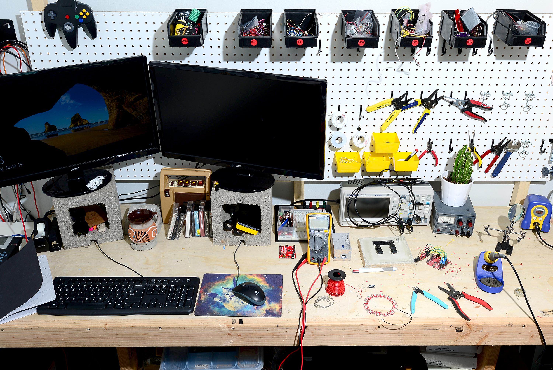 desk of an engineer blog sparkfun electronics