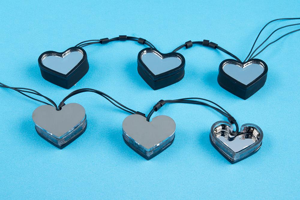 Fashion Hacking: Infinity Mirror Heart Heels - News - SparkFun ...