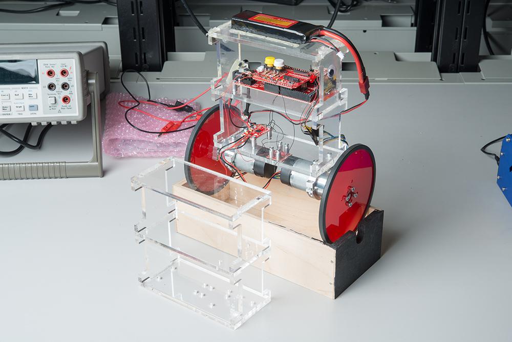 Enginursday: Steps Toward an Inverted Pendulum Robot - News