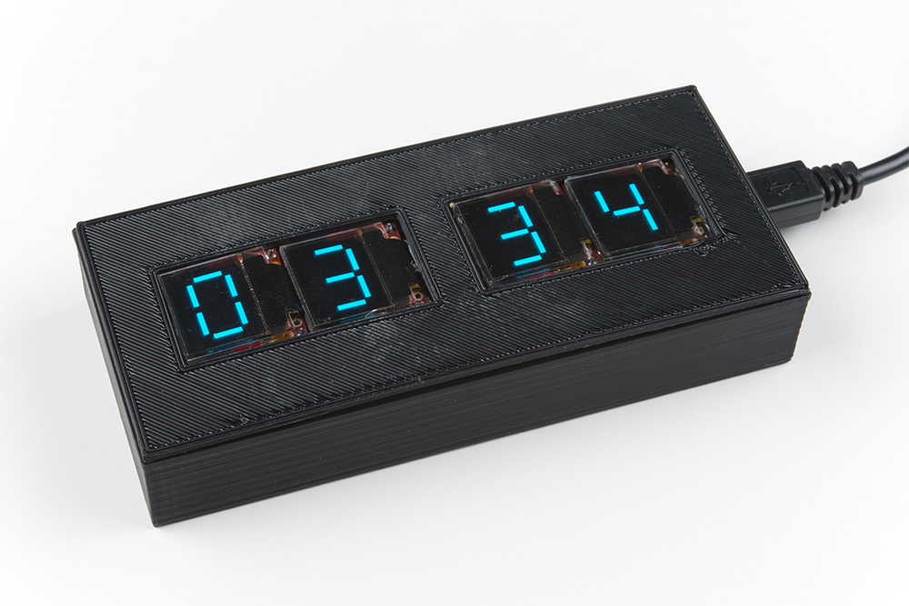 Enginursday: OLED Clock Part II - News - SparkFun Electronics