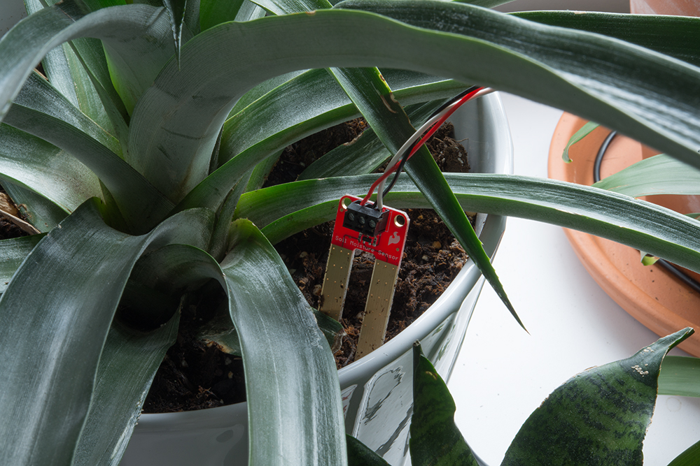 Mort and Mary Present: BLE Soil Moisture Sensor with the
