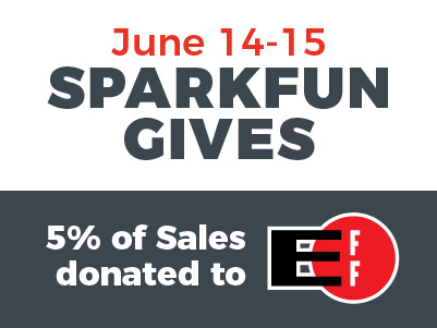 SparkFun Gives Day Logo