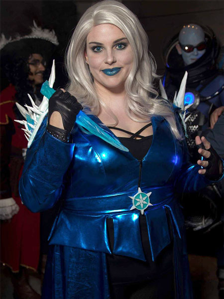 Killer Frost poses for a photo