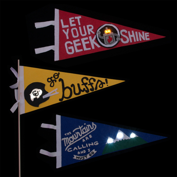 light up pennants