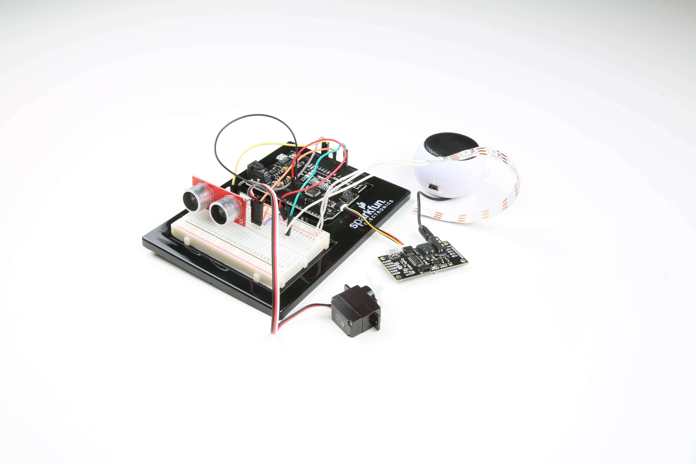 Interactive Spooky Halloween Cat Iot Expert 12f675 Based Brushed Motor Esc Circuit