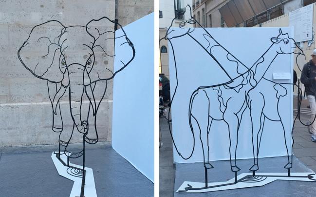Anamorphic sculpture