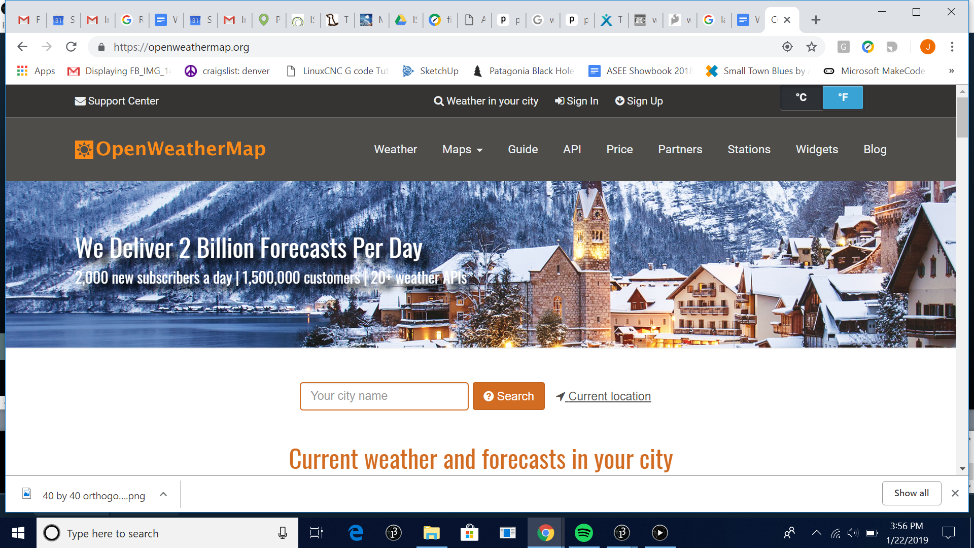 Migrating a Project from Weather Underground to Open Weather Maps