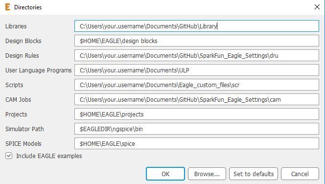 Using Eagle Configuration Script Files: How to Make Eagle