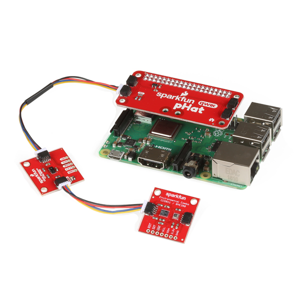 An example of the Qwiic Connect System with Raspberry Pi