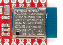 Bluetooth module showing CMIIT marking